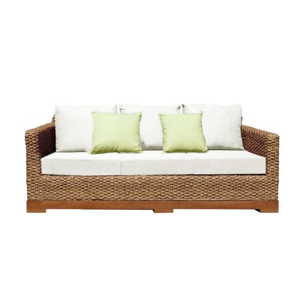 canape d houssable tissu bio et fibres naturelles tress es. Black Bedroom Furniture Sets. Home Design Ideas
