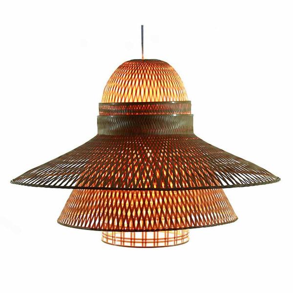 Luminaire en bambou tr s po tique pour une d co nature et for Suspension originale cuisine