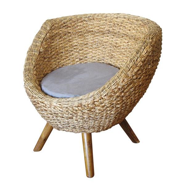 fauteuil cologique tout rond pour cr er un coin cocooning originale. Black Bedroom Furniture Sets. Home Design Ideas
