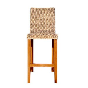 Tabouret ou chaise haute tressé