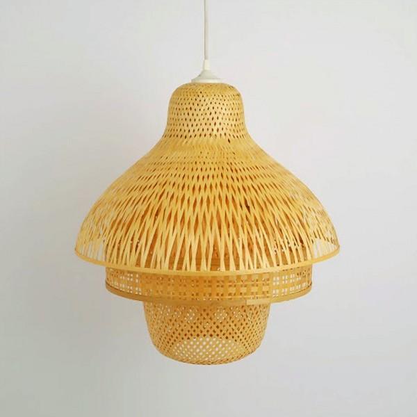 luminaire en bambou tr s po tique pour une d co nature et. Black Bedroom Furniture Sets. Home Design Ideas