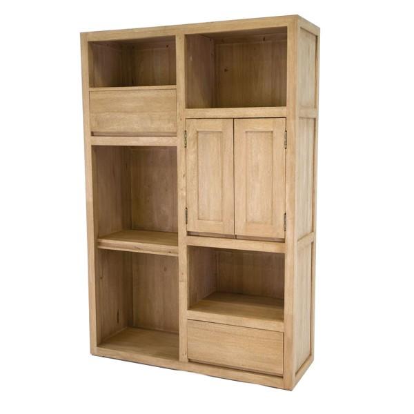 Meuble biblioth que et rangement en bois aux finitions cologiques - Bibliotheques meubles bois ...