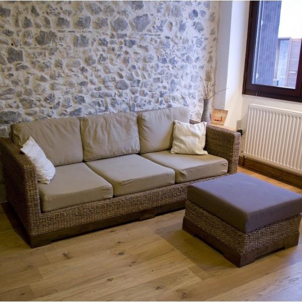 un pouf d houssable confortable en mat riaux sains et naturels. Black Bedroom Furniture Sets. Home Design Ideas