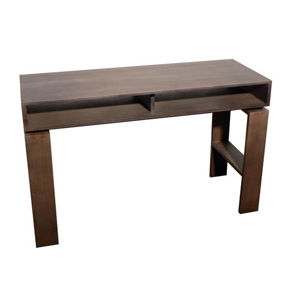 console casier qui se transforme en bureau d 39 appoint h tre pefc finition cologique. Black Bedroom Furniture Sets. Home Design Ideas