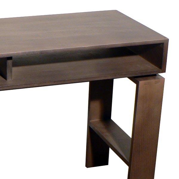 console casier qui se transforme en bureau d 39 appoint. Black Bedroom Furniture Sets. Home Design Ideas