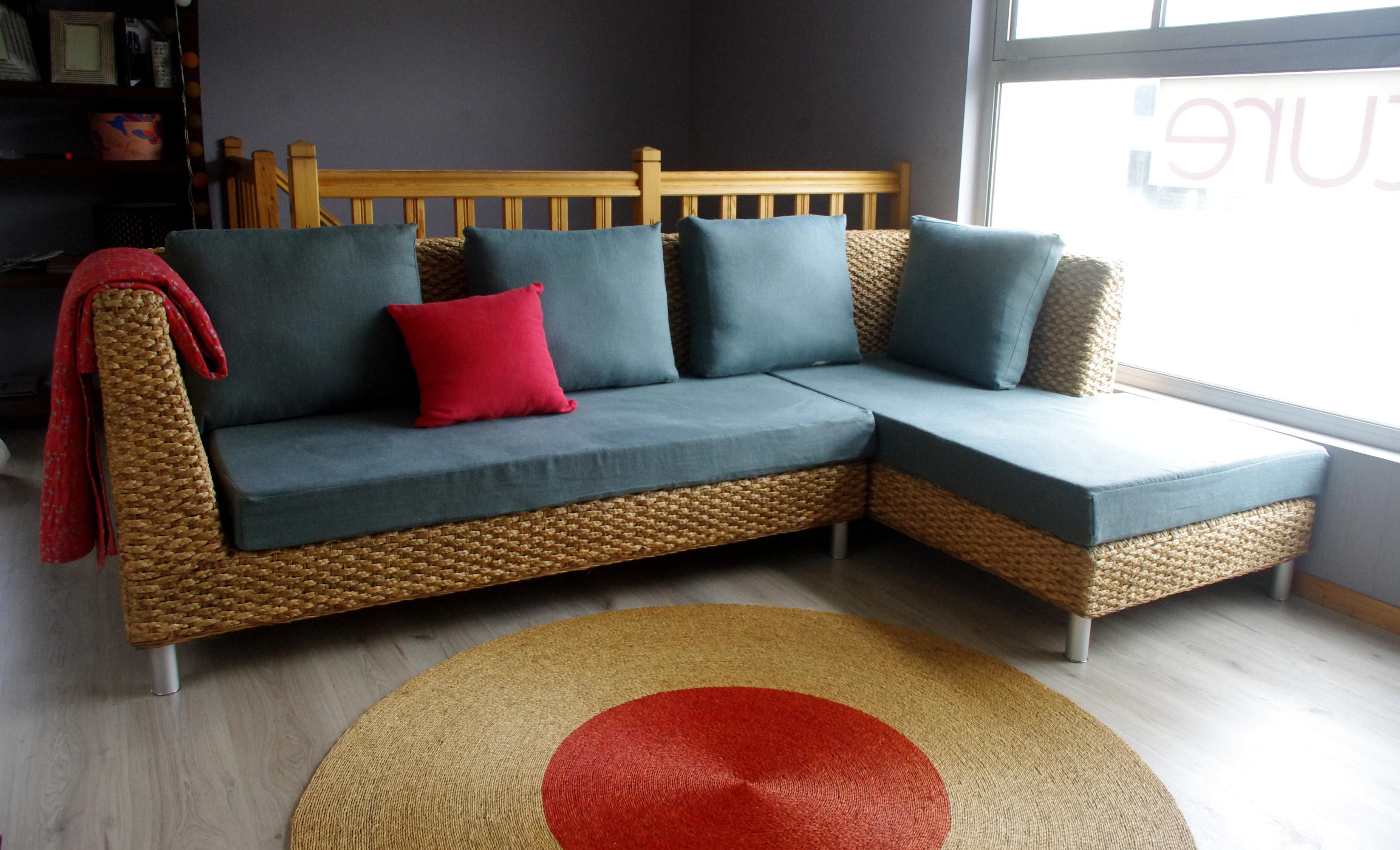 Canapé d'angle écologique TANDEM