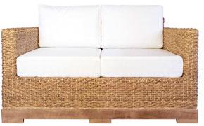 Canapé en jacinthe d'eau Onature