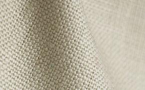 Tissu en lin détail