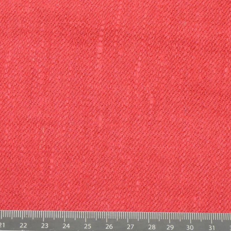 Toile de chanvre rouge